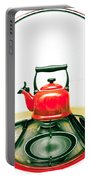 Red Kettle Portable Battery Charger