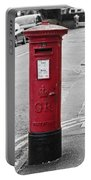 Red King George V Postbox Portable Battery Charger