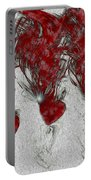 Red Love Portable Battery Charger