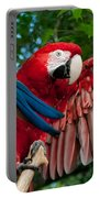 Red Macaw Portable Battery Charger