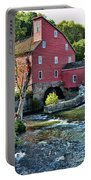 Red Mill On The Water Portable Battery Charger