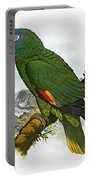 Red-necked Amazon Parrot Portable Battery Charger