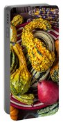 Red Pear And Gourds Portable Battery Charger