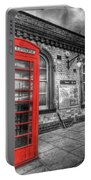 Red Phone Box Portable Battery Charger
