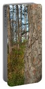 Red Pine Forest Portable Battery Charger