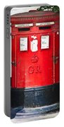 Red Post Box Portable Battery Charger
