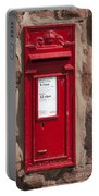 Red Postbox Portable Battery Charger