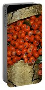 Red Pyracantha Berries Portable Battery Charger