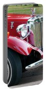 Red Roadster Portable Battery Charger