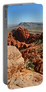 Red Rock Canyon At The Tank Portable Battery Charger