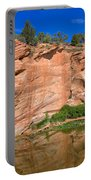 Red Rock Formation In The Kaibab Plateau In Grand Canyon National Park Portable Battery Charger