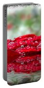 Red Rose Reflections Portable Battery Charger