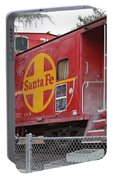 Red Sante Fe Caboose Train . 7d10325 Portable Battery Charger