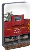 Red Sante Fe Caboose Train . 7d10328 Portable Battery Charger