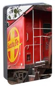 Red Sante Fe Caboose Train . 7d10332 Portable Battery Charger