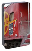 Red Sante Fe Caboose Train . 7d10334 Portable Battery Charger