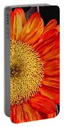 Red Sunflower II  Portable Battery Charger