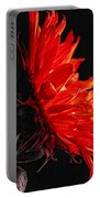 Red Sunflower Vi Portable Battery Charger