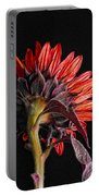 Red Sunflower X Portable Battery Charger