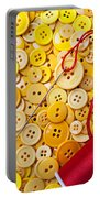 Red Thread And Yellow Buttons Portable Battery Charger