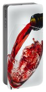 Red Wine Pour Portable Battery Charger