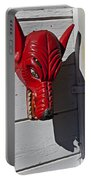 Red Wolf Mask Portable Battery Charger