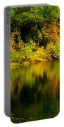 Reflection Of Autumn Colors Portable Battery Charger