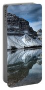 Reflections At Bow Lake Portable Battery Charger