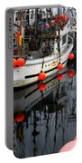 Reflections At French Creek Portable Battery Charger by Bob Christopher