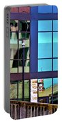 Reflections In San Antonio Texas Portable Battery Charger