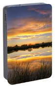 Reflections Of Gold  Portable Battery Charger
