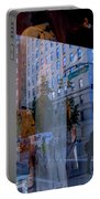 Reflections On Madison Avenue Portable Battery Charger