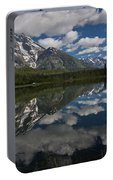 Reflections On Mount Moran Portable Battery Charger