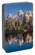 Reflections On Schwabacher Landing Portable Battery Charger