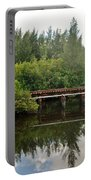 Reflections On The North Fork River Portable Battery Charger