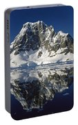 Reflections With Ice Portable Battery Charger