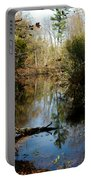 Reflective River Thoughts Portable Battery Charger