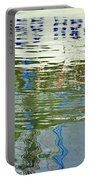 Reflective Water Abstract Portable Battery Charger