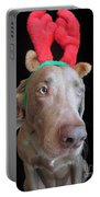 Reindeer Doggie Portable Battery Charger