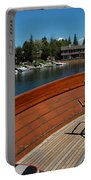 Relaxing On Lake Tahoe Portable Battery Charger