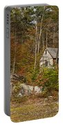 Remote Vermont Cabin Portable Battery Charger