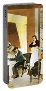 Rene Laennec, French Physician Portable Battery Charger
