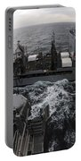 Replenishment At Sea Between Usns Portable Battery Charger