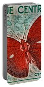 Republique Centrafricaine Butterfly Stamp Portable Battery Charger