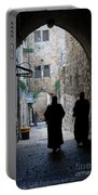 Residents Of Jerusalem Old City Portable Battery Charger