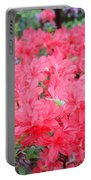 Rhodies Art Prints Pink Rhododendrons Floral Portable Battery Charger