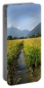 Rice Field Portable Battery Charger