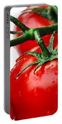 Rich Red Tomatoes Portable Battery Charger