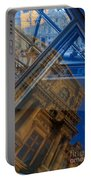 Richelieu Wing Of The Louvre Portable Battery Charger