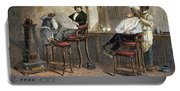 Richmond Barbershop, 1850s Portable Battery Charger